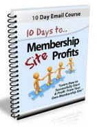 membership site profits plr autoresponder messages