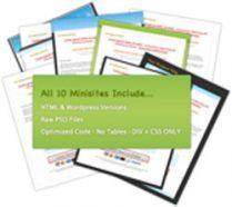10-mini-site-plr-template-cover
