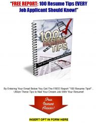 private label rights Private Label Rights and PLR Products 100 resume writing tips mrr report squeeze page 190x243