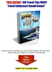private label rights Private Label Rights and PLR Products 100 travel tips mrr ebook squeeze page