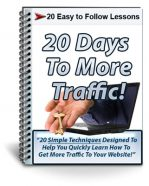 20-days-to-more-traffic-autoresponder-messages-plr-cover