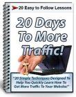 20 days to more traffic plr autoresponder messages