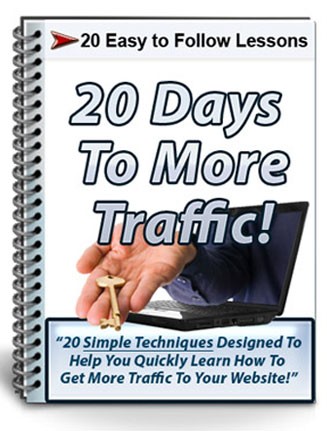 20 days to more traffic plr autoresponder messages