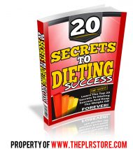 20-secrets-to-dieting-success-plr-ebook-cover
