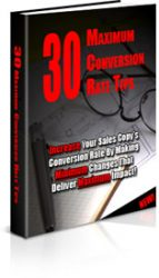 3D-30  30 Maximum PLR Conversion Rate Tips 3D 30 143x250 private label rights Private Label Rights and PLR Products 3D 30 143x250