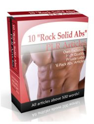 6 pack abs plr articles