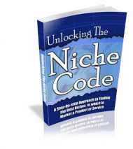 NICHECODECOVER  Unlocking the Niche Code PLR NICHECODECOVER 190x213