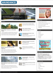 abundance and prosperity plr website