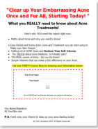 acne treatment plr autoreponder messages