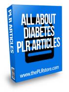 all about diabetes plr articles