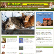 allergies-plr-website-cover