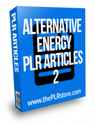alternative energy plr articles alternative energy plr articles Alternative Energy PLR Articles 2 with Private Label Rights alternative energy plr articles 2 190x250