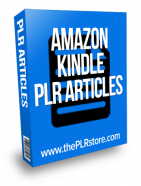 amazon kindle plr articles