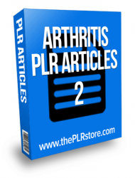 arthritis plr articles