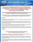 backend sales mastery plr Backend Sales Mastery PLR Ready To Sell Package backend sales mastery plr 110x140