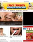 Bad Breath PLR Website with Private Label Rights bad breath plr website cover 110x140