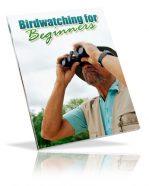 bird-watching-for-beginners-plr-ebook-cover