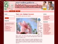 bridal-accessories-plr-wordpress-theme  Bridal Accessories PLR Web Templates Landing Page bridal accessories plr wordpress theme 190x143