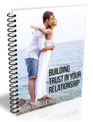 building trust in a relationship plr report