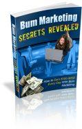 bum-marketing-secrets-revealed-plr-ebook-cover