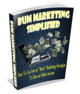 bum-marketing-simplified-plr-ebook-cover
