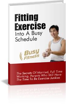 Busy Fitness PLR eBook busy fitness plr ebook cover
