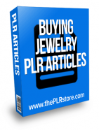 buying jewelry plr articles