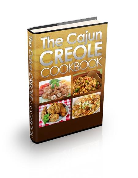 Cookbook Ebook Cover : Cajun creole cookbook plr recipes ebook