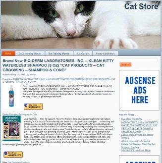 Cat PLR Amazon Pre-Loaded Store Website cat plr amazon turnkey store website main 327x329