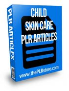 child-skin-care-acne-plr-articles