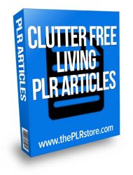 clutter-free-living-plr-articles