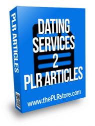 dating services plr articles
