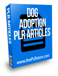dog adoption plr articles dog adoption plr articles Dog Adoption PLR Articles dog adoption plr articles 190x250