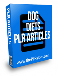 dog diets plr articles