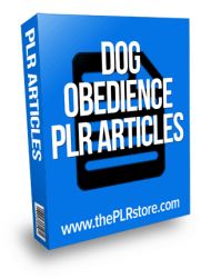 dog obedience plr articles private label rights Private Label Rights and PLR Products dog obedience plr articles