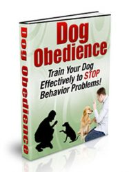 dog obedience plr ebook