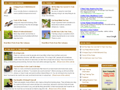 dog-training-plr-blog-index-page