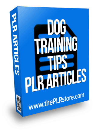 dog training tips plr articles