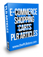 e-commerce-shopping-carts-plr-articles