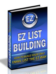 easy list building plr ebook