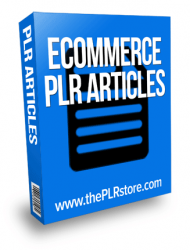 ecommerce plr articles