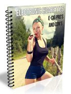 electronic cigarettes plr report