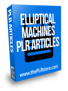 elliptical machines plr articles