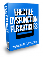 erectile dysfunction plr