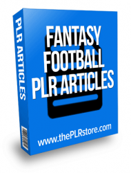 fantasy football plr articles private label rights Private Label Rights and PLR Products fantasy football plr articles