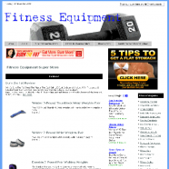 fitness-equipment-amazon-plr-website-store-cover