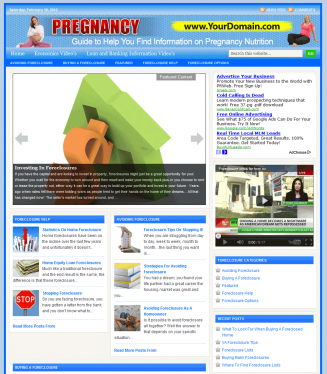 Foreclosure PLR Website foreclosure plr website main 327x374