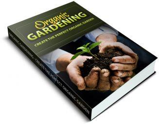 Gardening Minisite PLR Package gardening plr package cover 327x254