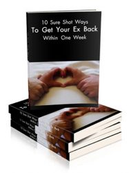 get your ex back in a week plr ebook