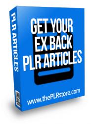 get your ex back plr articles
